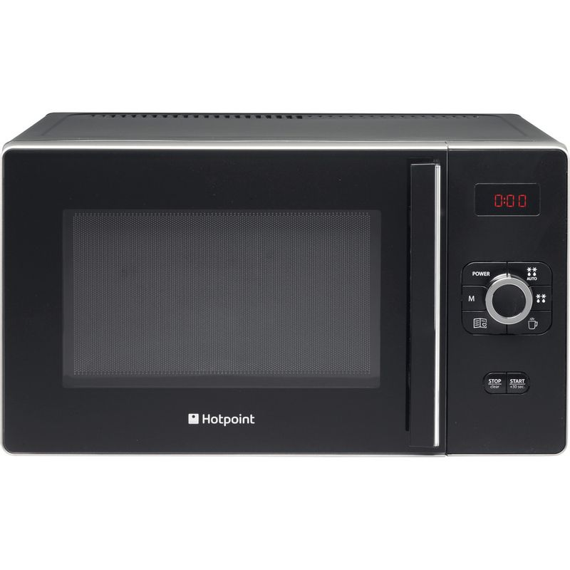 Hotpoint-Microwave-Free-standing-MWH-2521-B-UK-Black-Electronic-25-MW-only-700-Frontal