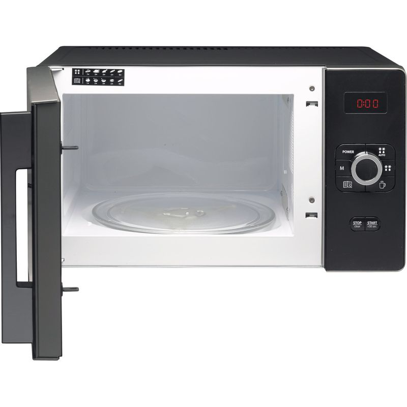 Hotpoint-Microwave-Free-standing-MWH-2521-B-UK-Black-Electronic-25-MW-only-700-Frontal_Open