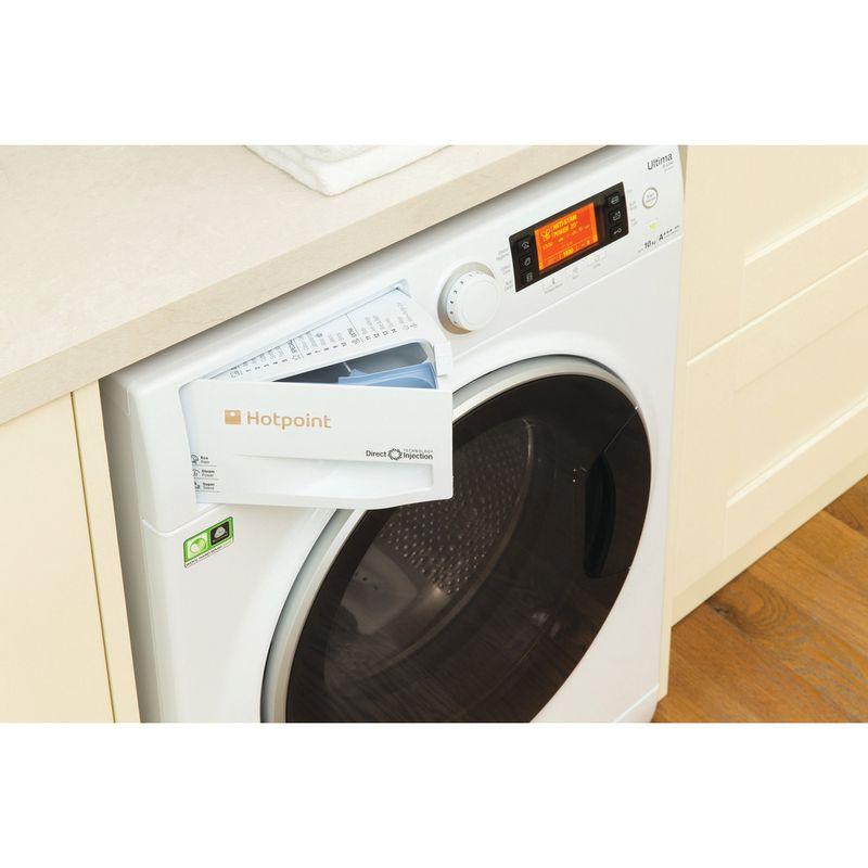 Hotpoint-Washing-machine-Free-standing-RPD-10667-DD-UK-White-Front-loader-A----Drawer