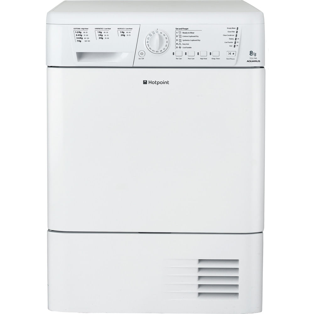 Hotpoint Freestanding tumble dryer TCHL 780BP (UK) : discover the specifications of our home appliances and bring the innovation into your house and family.