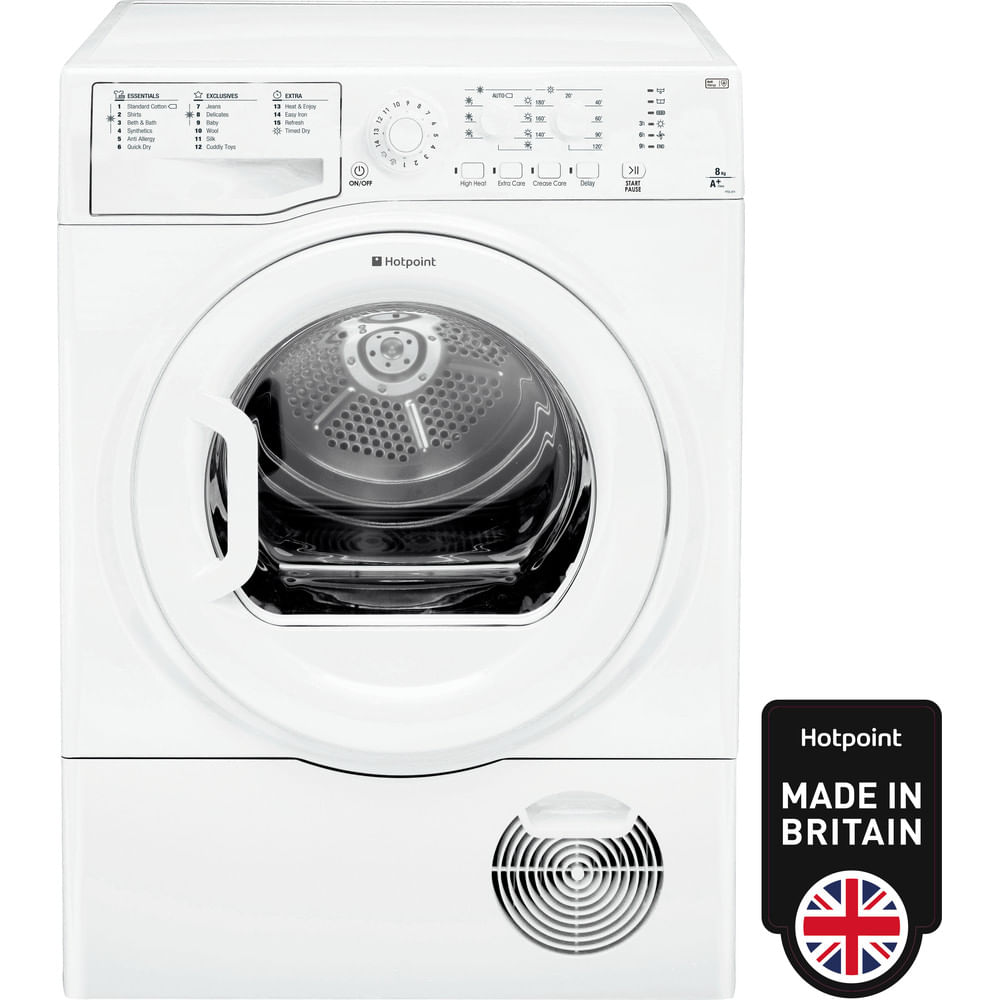 Hotpoint Freestanding tumble dryer FTCL 871 GP (UK) : discover the specifications of our home appliances and bring the innovation into your house and family.