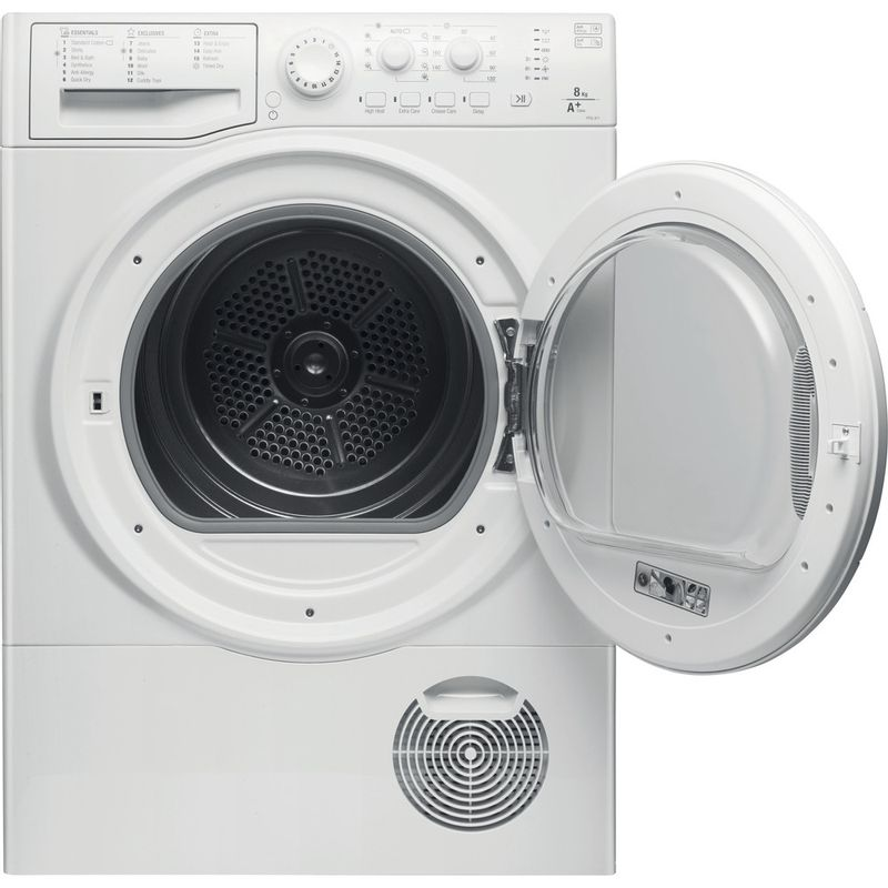 Hotpoint-Dryer-FTCL-871-GP--UK--White-Frontal_Open
