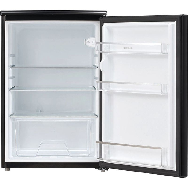 Hotpoint-Refrigerator-Free-standing-CTL-55-K-Black-Frontal_Open