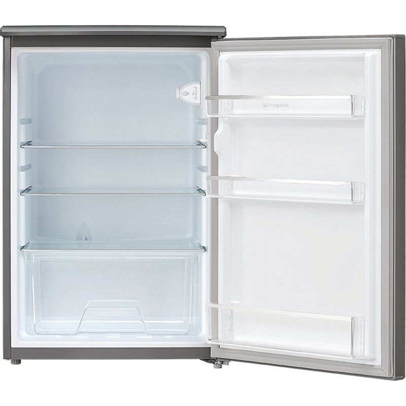 Hotpoint-Refrigerator-Free-standing-CTL-55-G-Graphite-Frontal_Open