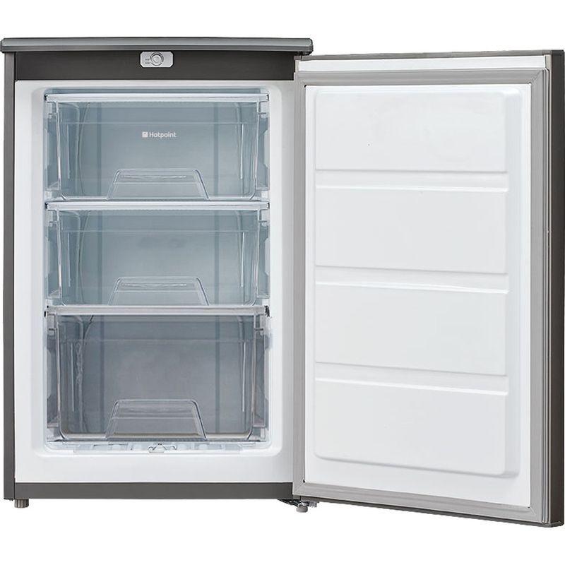 Hotpoint-Freezer-Free-standing-CTZ-55-G-Graphite-Frontal_Open