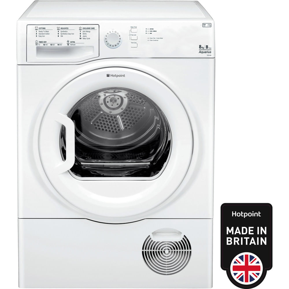 Hotpoint Freestanding tumble dryer TCFS 835B GP (UK) : discover the specifications of our home appliances and bring the innovation into your house and family.