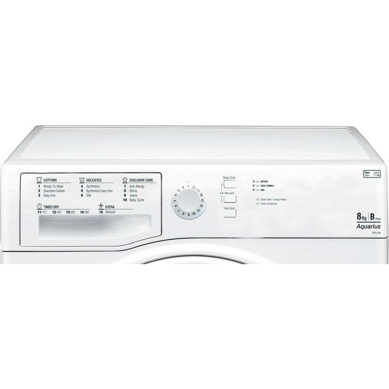 Hotpoint-Dryer-TCFS-835B-GP--UK--White-Control_Panel