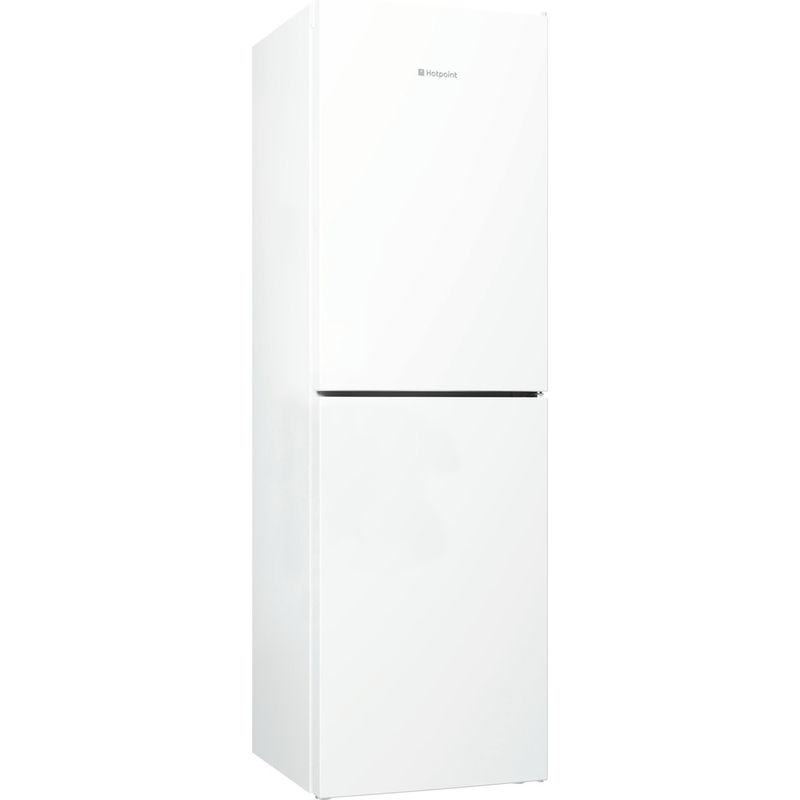 Hotpoint-Fridge-Freezer-Free-standing-LJL85-N1-W-White-2-doors-Perspective