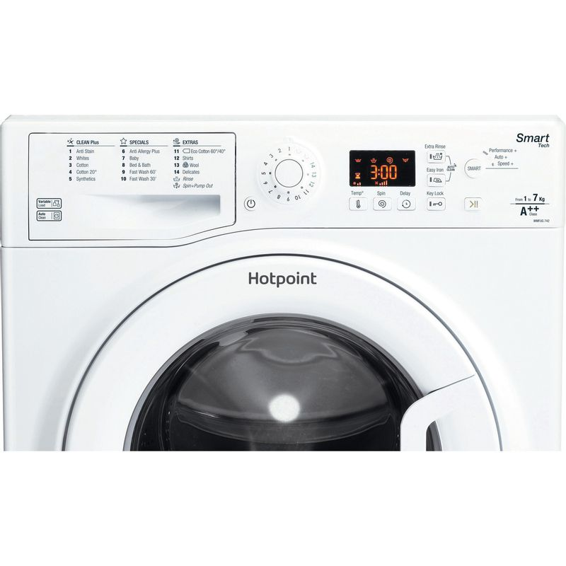 Hotpoint-Washing-machine-Free-standing-WMFUG-742-P-UK.M-White-Front-loader-A---Control_Panel