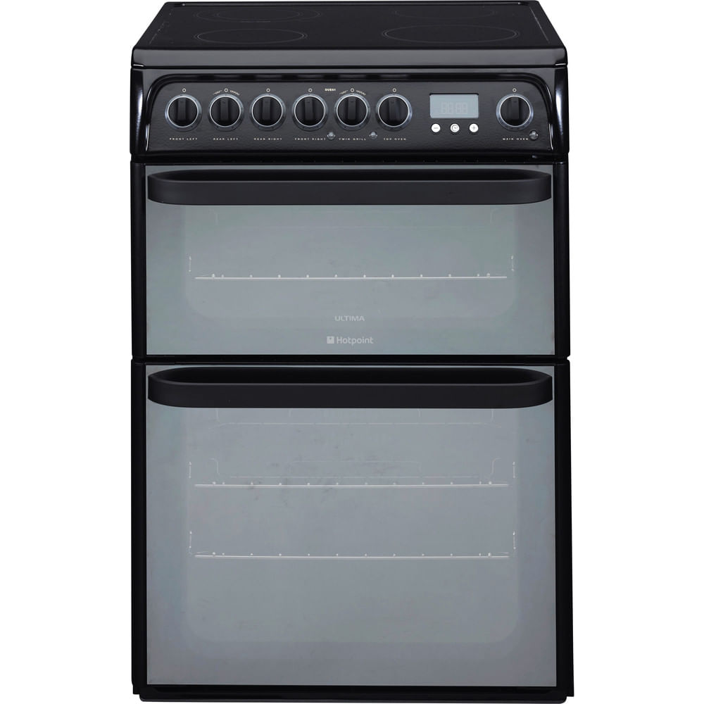 Hotpoint Double Cooker DUE61BC : discover the specifications of our home appliances and bring the innovation into your house and family.
