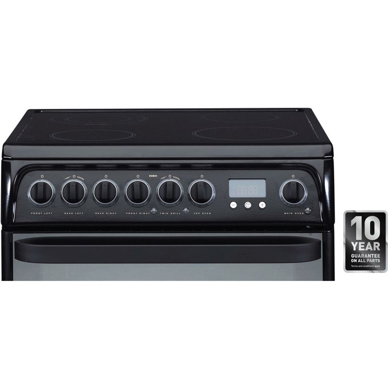 Hotpoint-Double-Cooker-DUE61BC-Charcoal-grey-A-Vitroceramic-Award