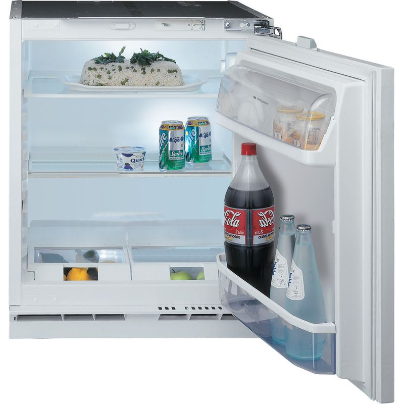 Hotpoint-Refrigerator-Built-in-HL-A1.UK-Steel-Perspective_Open