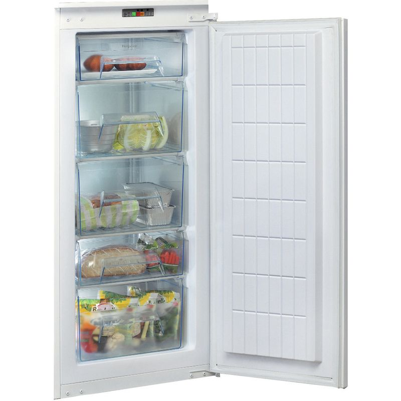 Hotpoint-Freezer-Built-in-U-12-A1-D.UK-H-White-Frontal-open
