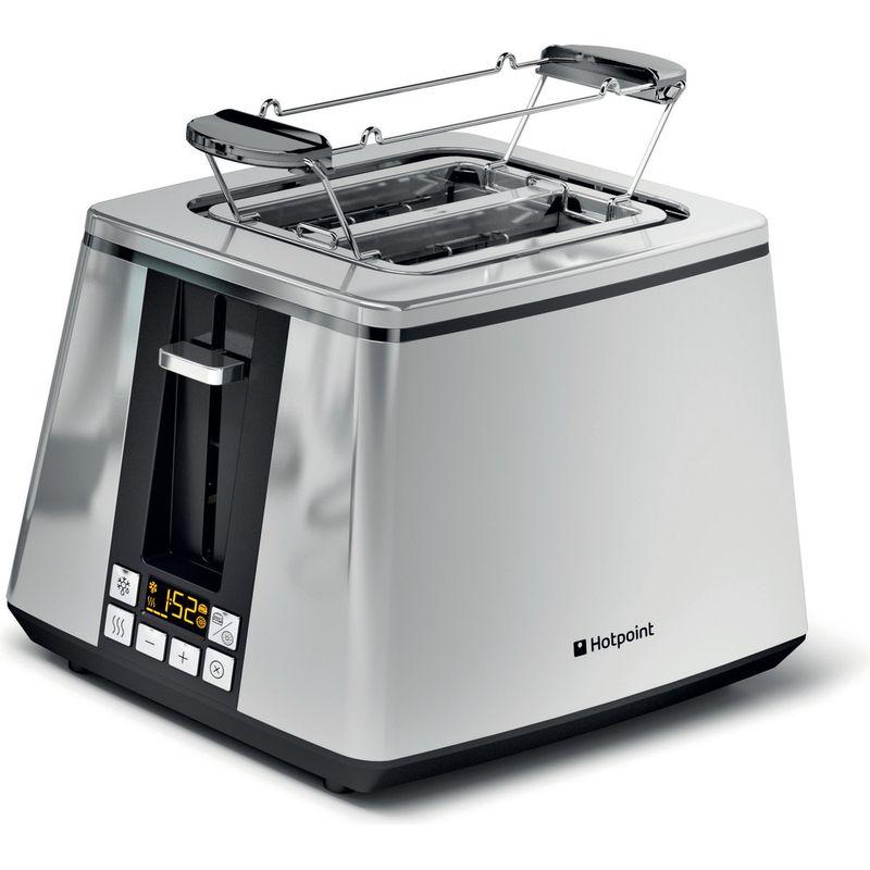 Hotpoint-Toaster-Free-standing-TT-22E-UP0-UK-Inox-Perspective