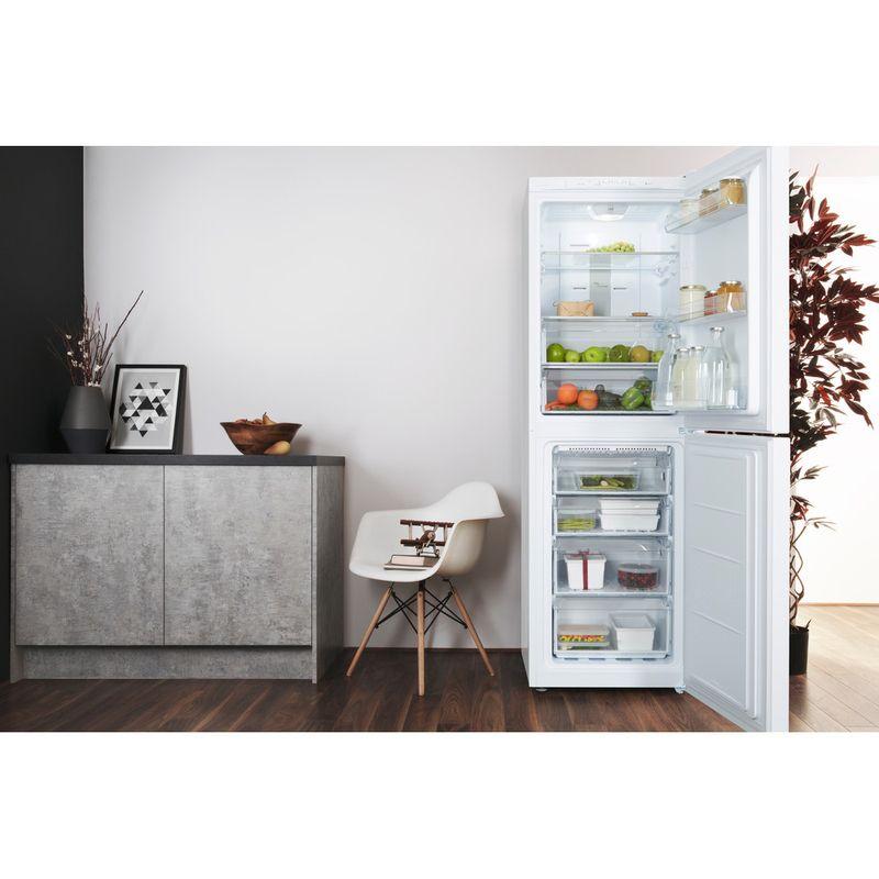 Hotpoint-Fridge-Freezer-Free-standing-SMX-85-T1U-W-White-2-doors-Lifestyle-frontal-open