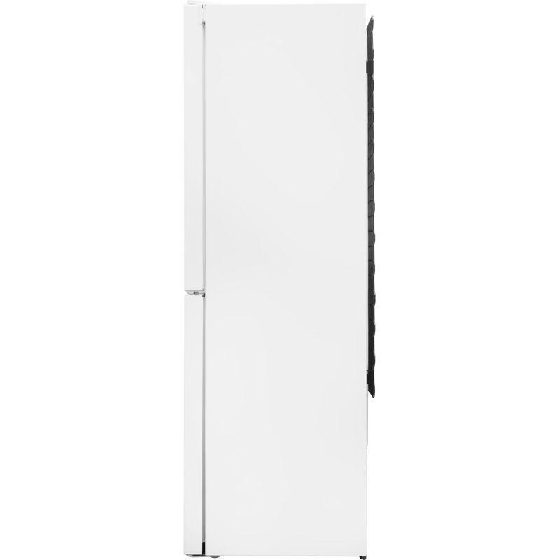 Hotpoint-Fridge-Freezer-Free-standing-SMX-85-T1U-W-White-2-doors-Back---Lateral
