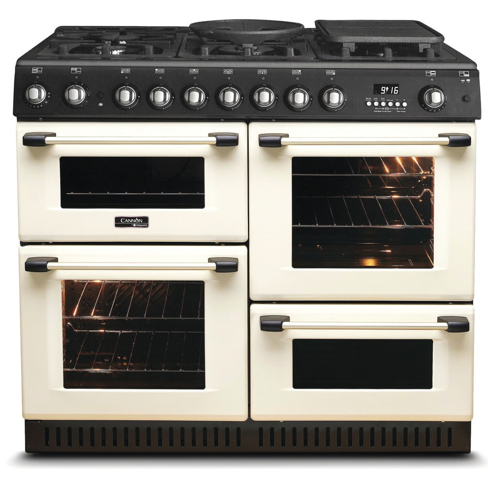 Hotpoint Double Cooker CH10755GF S : discover the specifications of our home appliances and bring the innovation into your house and family.