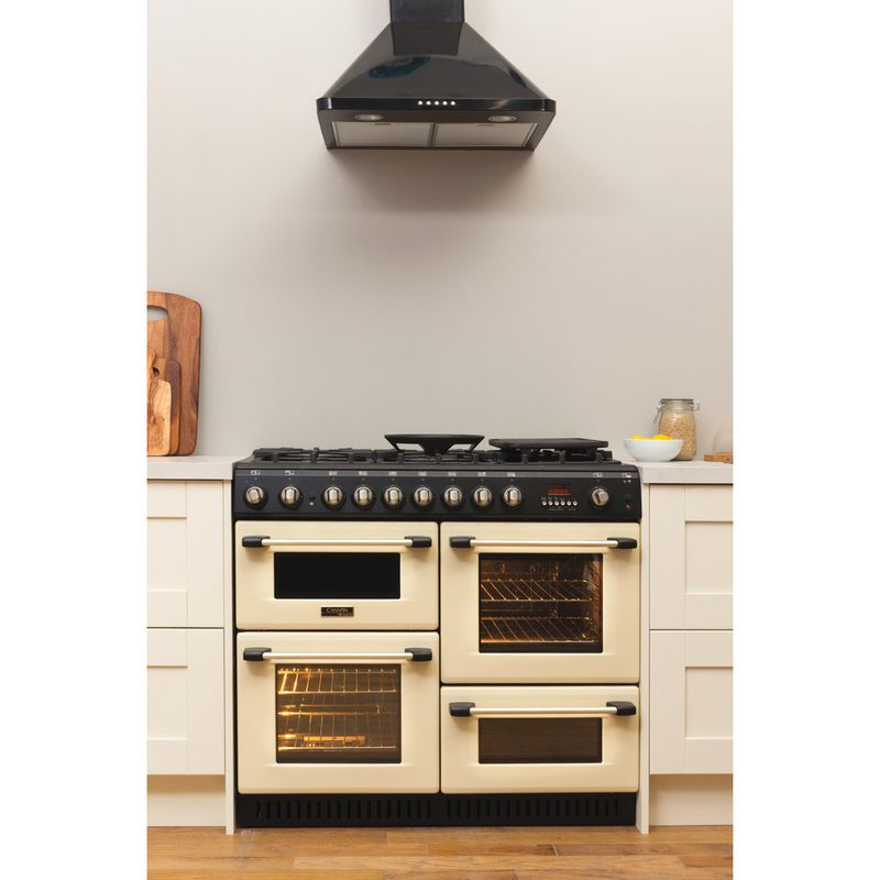 Hotpoint-Double-Cooker-CH10755GF-S-Crema-A--Enamelled-Sheetmetal-Lifestyle-frontal