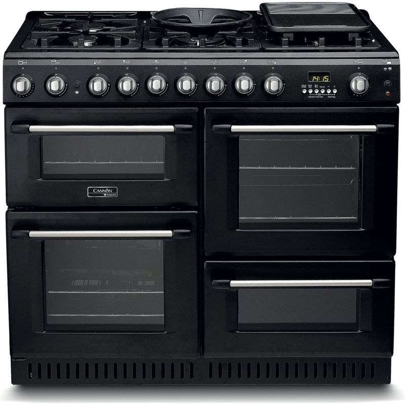 Hotpoint-Double-Cooker-CH10456GF-S-Antracite-B-Enamelled-Sheetmetal-Frontal