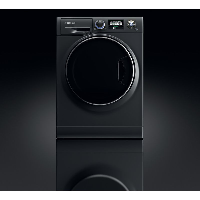 Hotpoint-Washing-machine-Free-standing-RZ-1066-B-UK-Black-Front-loader-A----Lifestyle_Frontal
