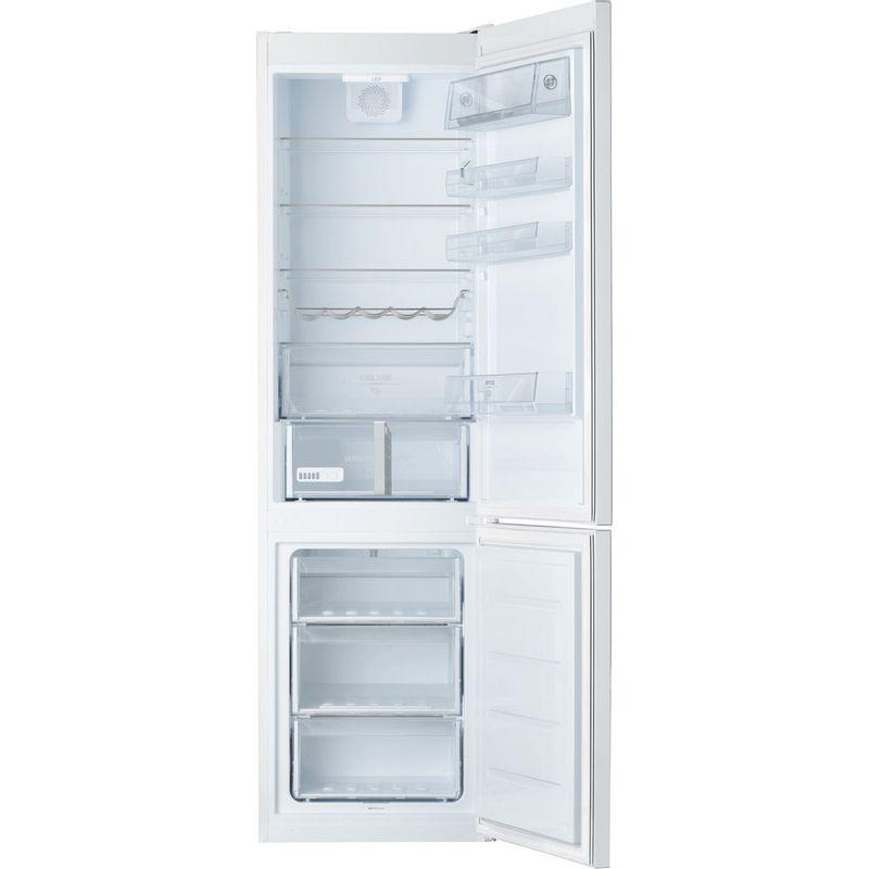 Hotpoint-Fridge-Freezer-Free-standing-H9-A1E-W-O3-UK-White-2-doors-Frontal_Open