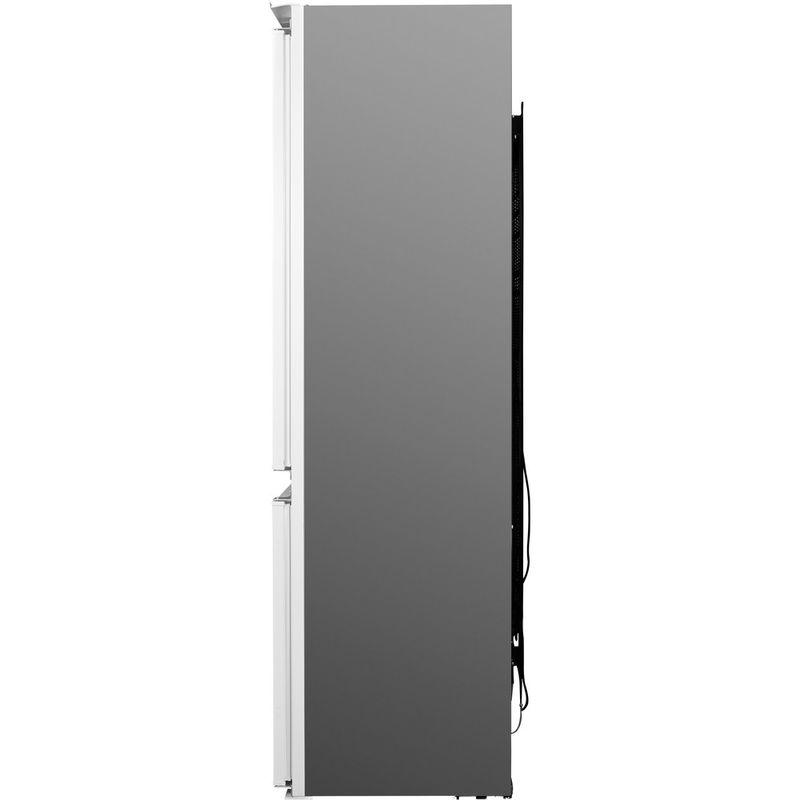 Hotpoint-Fridge-Freezer-Built-in-HMCB-5050-AA.UK-Inox-2-doors-Back---Lateral