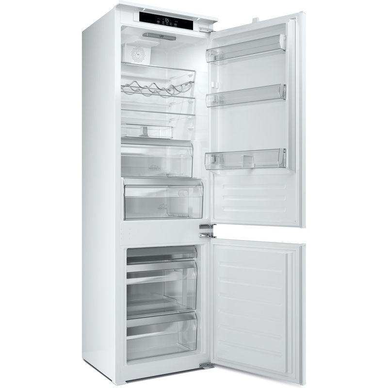 Hotpoint-Fridge-Freezer-Built-in-HM-7030-E-C-AA-O3-Steel-2-doors-Perspective-open