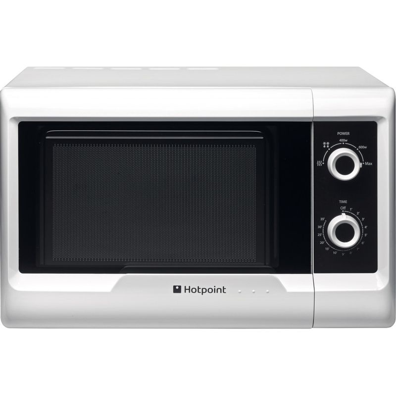 Hotpoint-Microwave-Free-standing-MWH-2011-MW0-White-Mechanical-20-MW-only-700-Frontal