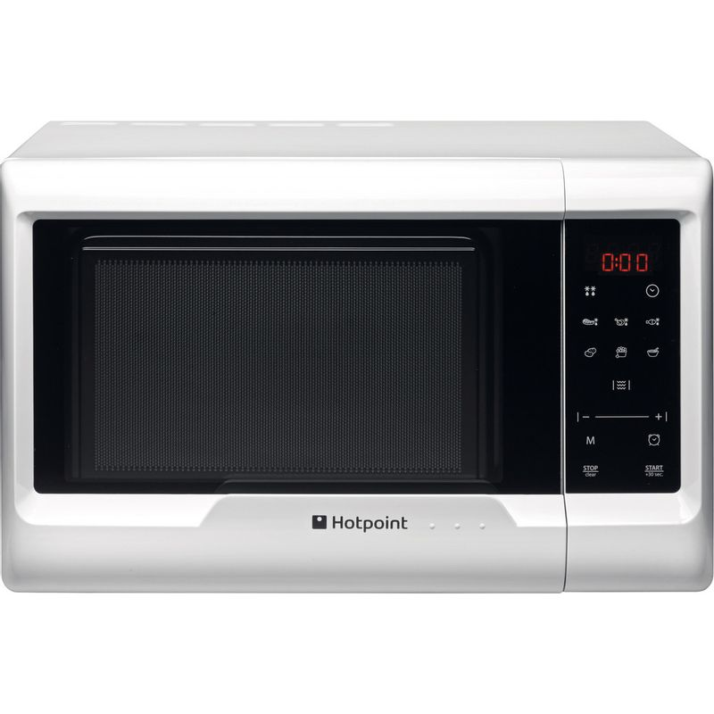 Hotpoint-Microwave-Free-standing-MWH-2031-MW0-White-Electronic-20-MW-only-700-Frontal