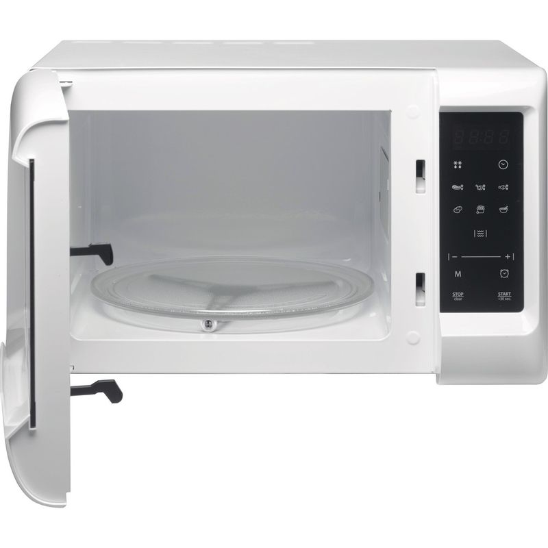 Hotpoint-Microwave-Free-standing-MWH-2031-MW0-White-Electronic-20-MW-only-700-Frontal_Open