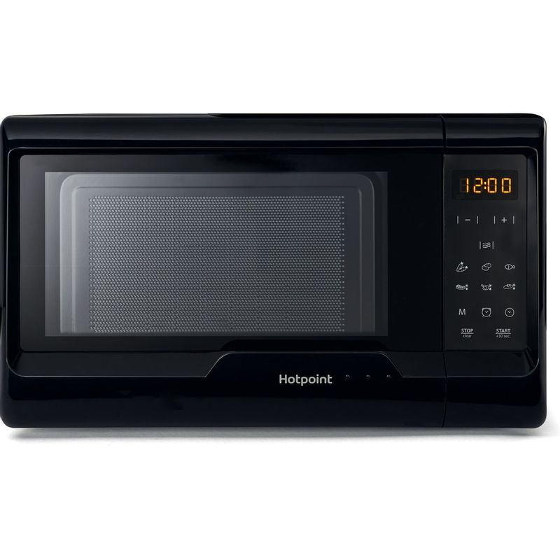 Hotpoint-Microwave-Free-standing-MWH-2031-MB0-Black-Electronic-20-MW-only-700-Frontal