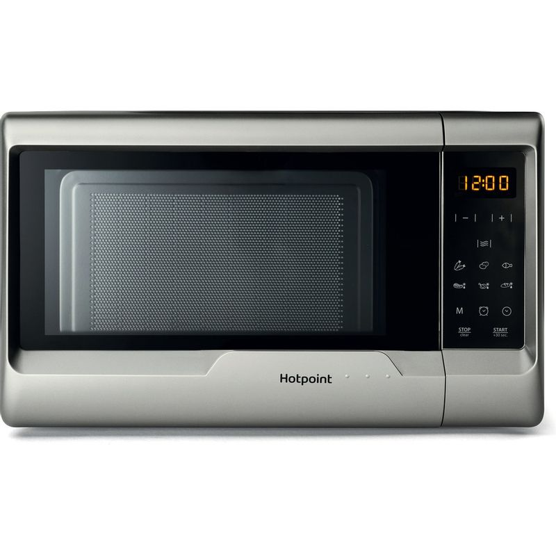 Hotpoint-Microwave-Free-standing-MWH-2031-MS0-Silver-painted-Electronic-20-MW-only-700-Frontal