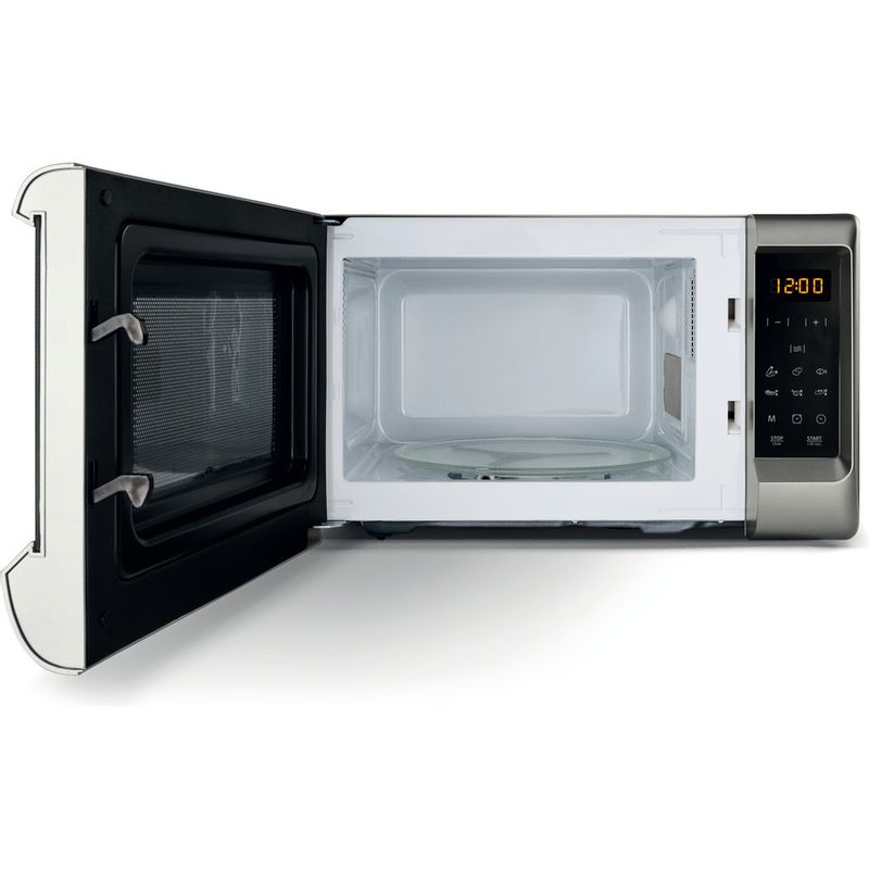 Hotpoint-Microwave-Free-standing-MWH-2031-MS0-Silver-painted-Electronic-20-MW-only-700-Frontal_Open