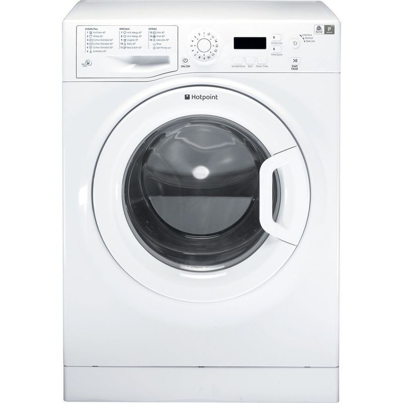 Hotpoint-Washing-machine-Free-standing-WMAQF-621P-UK.L-White-Front-loader-A--Frontal