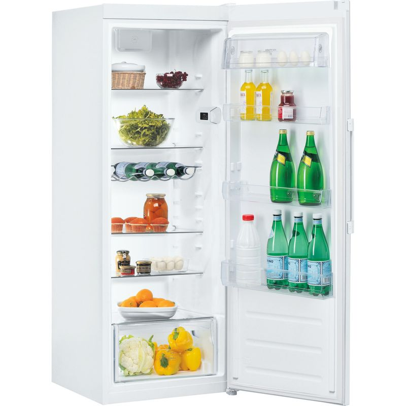 Hotpoint-Refrigerator-Free-standing-SH6-1Q-W-UK-Global-white-Perspective-open