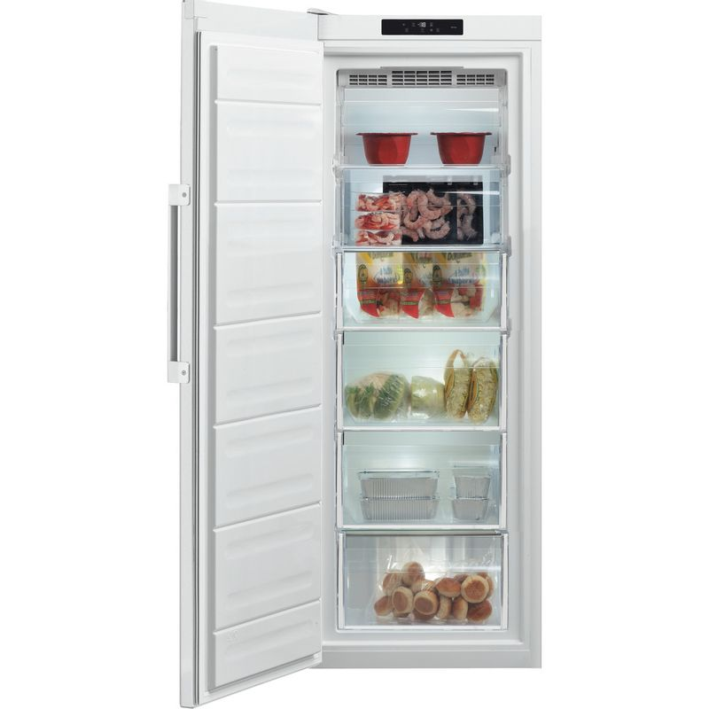 Hotpoint-Freezer-Free-standing-UH6-F1C-W-UK-Global-white-Frontal-open