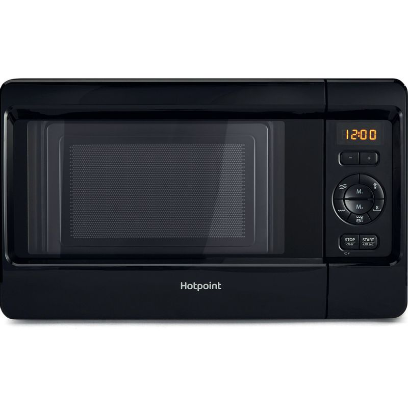 Hotpoint-Microwave-Free-standing-MWH-2422-MB-Black-Electronic-24-MW-Grill-function-750-Frontal