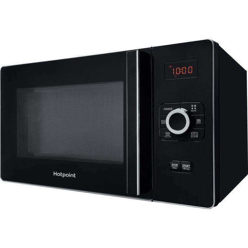 Hotpoint-Microwave-Free-standing-MWH-25223-B-Black-Electronic-25-MW-Grill-function-700-Perspective