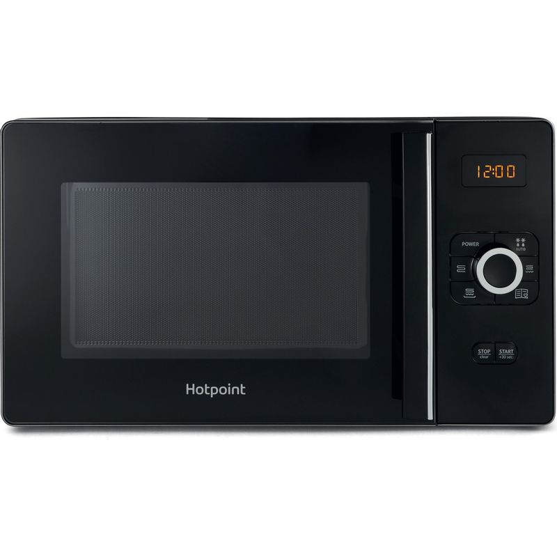 Hotpoint-Microwave-Free-standing-MWH-25223-B-Black-Electronic-25-MW-Grill-function-700-Frontal