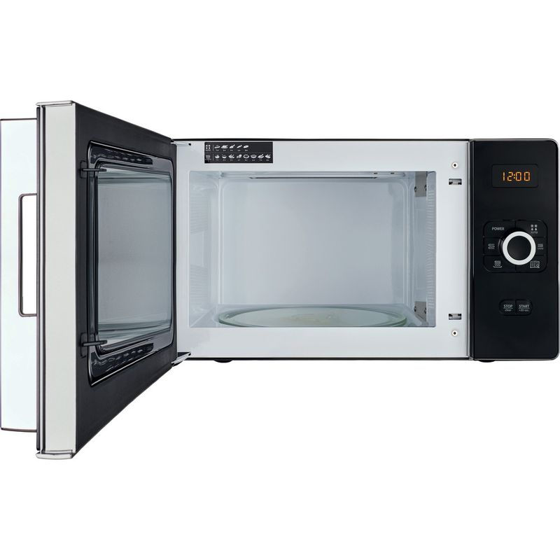 Hotpoint-Microwave-Free-standing-MWH-25223-B-Black-Electronic-25-MW-Grill-function-700-Frontal-open