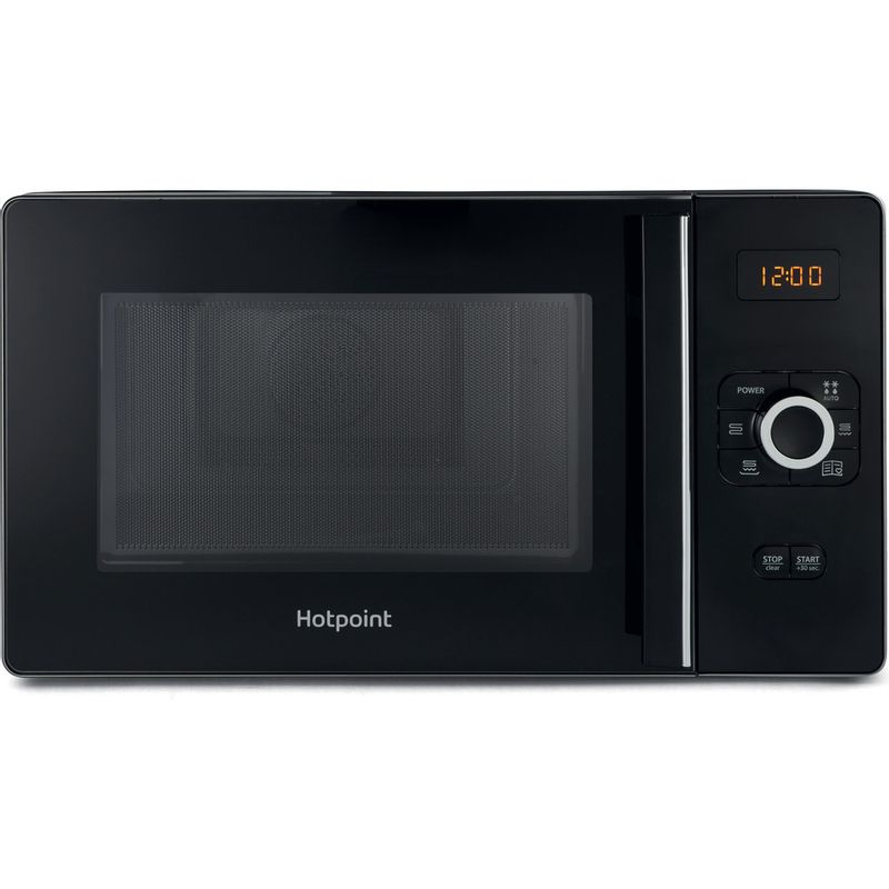 Hotpoint-Microwave-Free-standing-MWH-2524-B-Black-Electronic-25-MW-Combi-700-Frontal