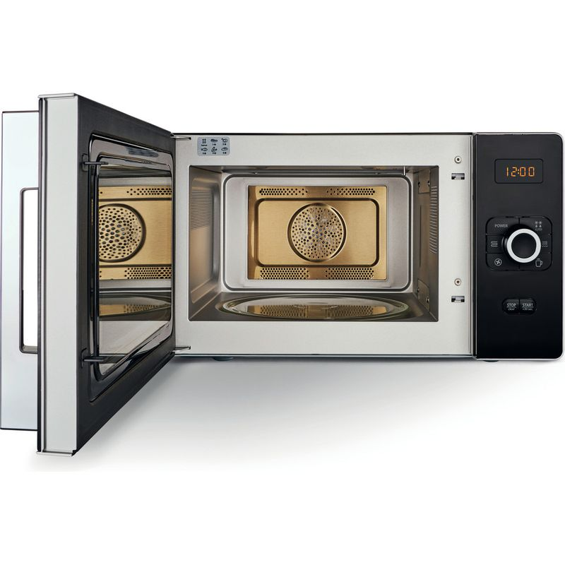 Hotpoint-Microwave-Free-standing-MWH-2524-B-Black-Electronic-25-MW-Combi-700-Frontal_Open