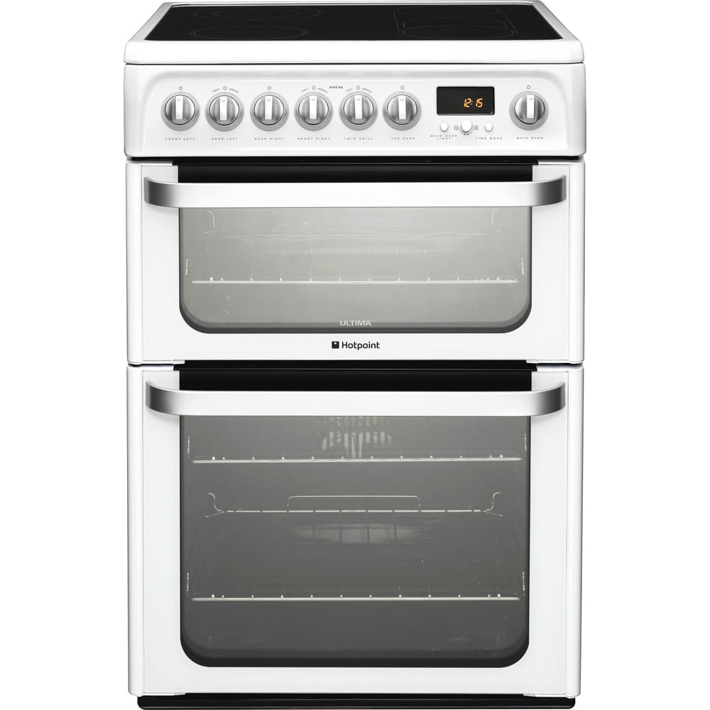 Hotpoint Double Cooker HUE62P S : discover the specifications of our home appliances and bring the innovation into your house and family.