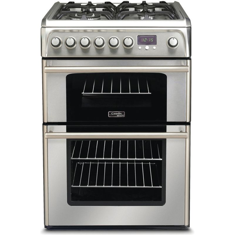 Hotpoint-Double-Cooker-CH60DPXF-S-Inox-B-Stainless-steel-Frontal