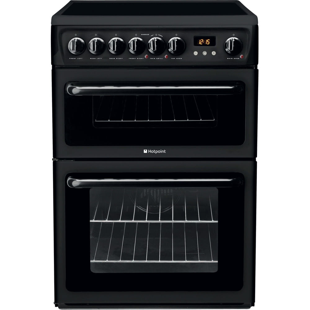 Hotpoint Double Cooker HAE60K S : discover the specifications of our home appliances and bring the innovation into your house and family.