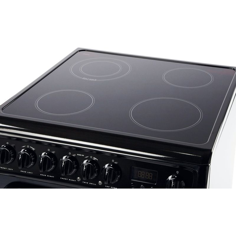 Hotpoint-Double-Cooker-HAE60K-S-Black-B-Vitroceramic-Perspective