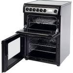 Hotpoint-Double-Cooker-HAE60K-S-Black-B-Vitroceramic-Perspective_Open