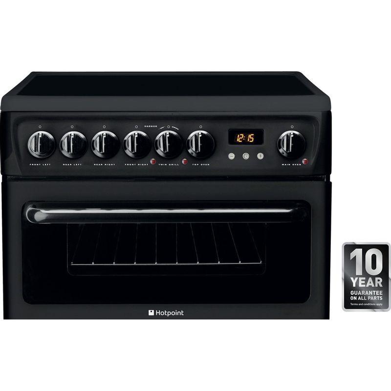 Hotpoint-Double-Cooker-HAE60K-S-Black-B-Vitroceramic-Award