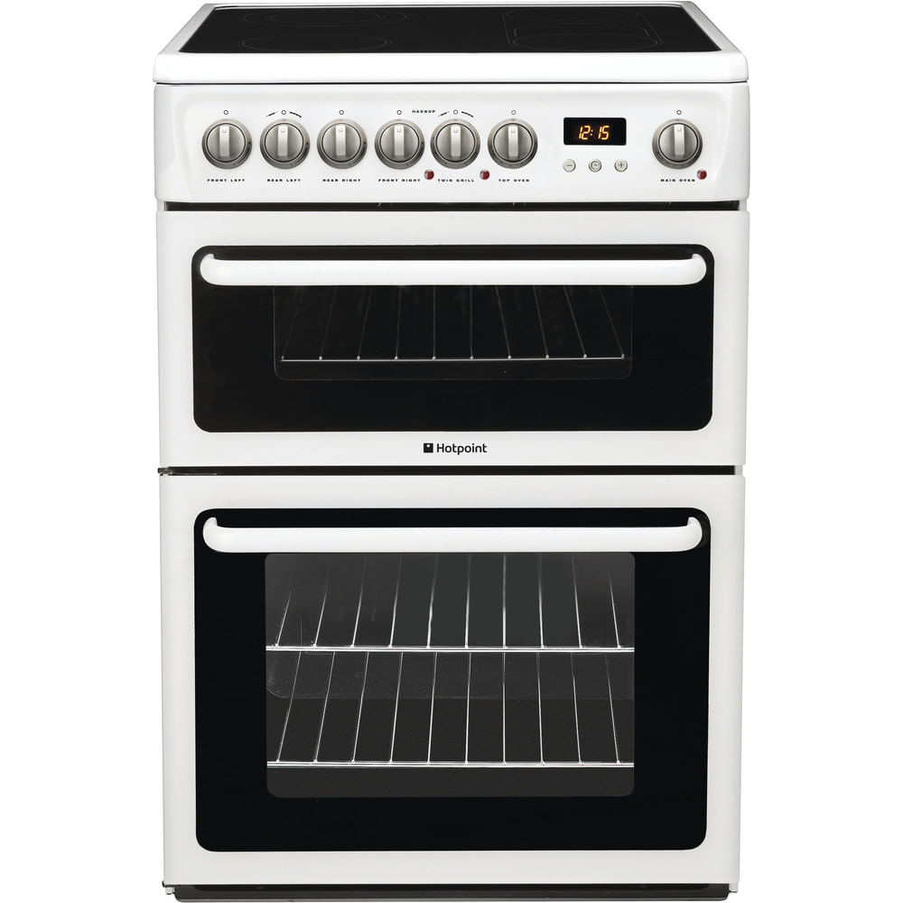 Hotpoint Double Cooker HAE60P S : discover the specifications of our home appliances and bring the innovation into your house and family.