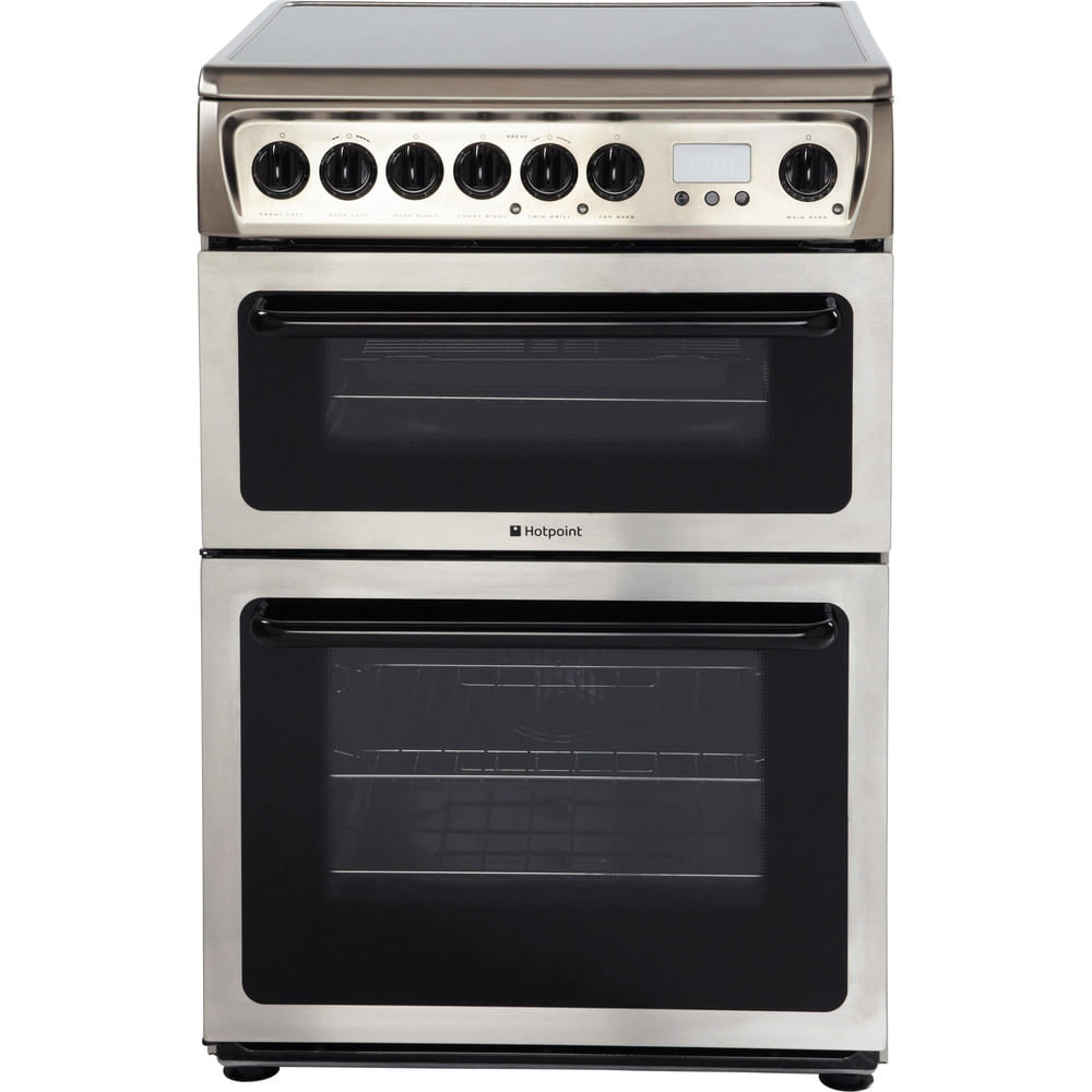 Hotpoint Double Cooker HAE60X S : discover the specifications of our home appliances and bring the innovation into your house and family.